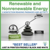 Renewable and Nonrenewable Energy Reading Passages for NGS