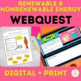 Renewable and Nonrenewable Energy Resources WebQuest DIGIT