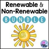 Renewable and Nonrenewable Resources: Activity BUNDLE