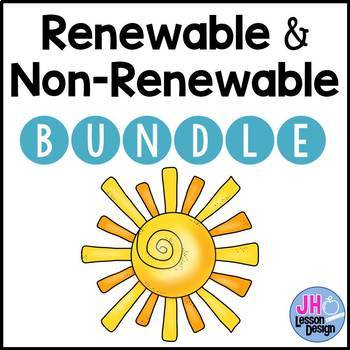 Renewable and Nonrenewable Resources: Activity BUNDLE