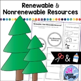 Renewable and Nonrenewable Resources: Cut and Paste Sortin