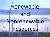 Renewable and Nonrenewable Resources Super Bundle