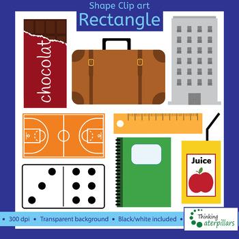 14bb3e340ca Rectangle objects 2D Clip art (shapes) by ThinkingCaterpillars