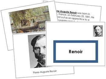 Renoir (Pierre-Auguste) Art Book - Color Border