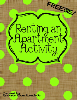 Renting an Apartment Activity
