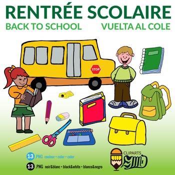 Rentrée Scolaire - Back to School - Vuelta al cole