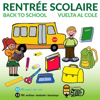 Rentrée Scolaire - Back to School - Vuelta al cole