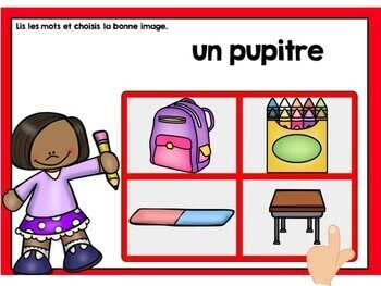 Rentrée: Back to School Themed Digital Task Cards in French BUNDLE - BOOM CARDS
