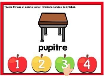 Rentrée: French Back to School Themed Digital Task Cards BUNDLE - BOOM CARDS