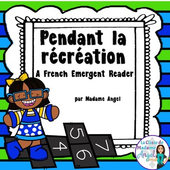 Rentrée Scolaire:  Back to School Themed Emergent Reader i