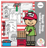 Repair Shop Toddler Printable