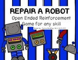 Repair the Robot: Open-Ended Reinforcement Game for any skill