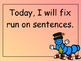 Grammar Practice: Run On Sentences and Comma Rules