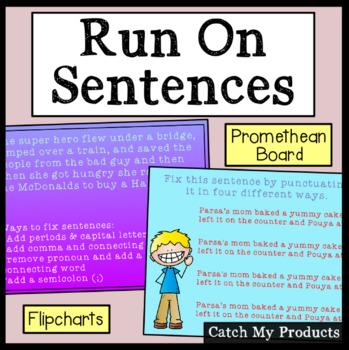 Run On Sentences (Repair) for The Promethean Board