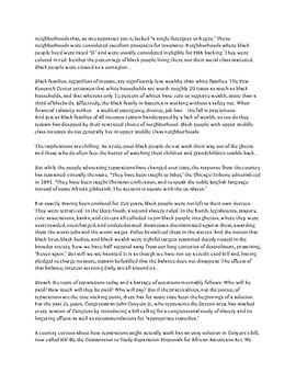 Reparations article for Socratic Seminar