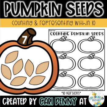 Representing Numbers 1-10: Counting Pumpkin Seeds
