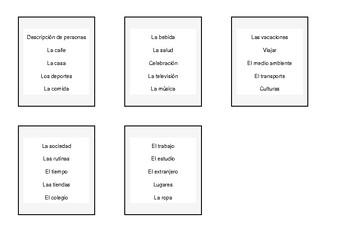 Repasamos el vocabulario con el juego «Alto el Lápiz»