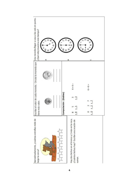 Repaso Diario de Matematicas para Primaria / Every day Math Warmups K-4 Spanish