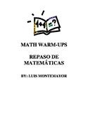 Repaso Diario de Matematicas para Primaria / Every day Mat