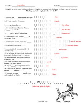 Repaso E Double Puzzle (Asi se dice 3)