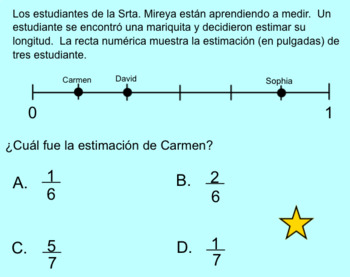 Repaso de Matemáticas para Mitad de Año (Common Core)