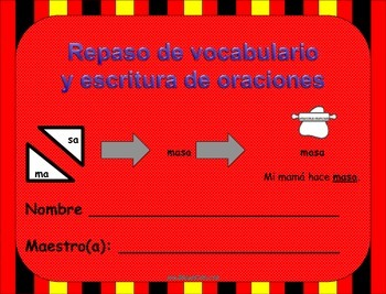 Spanish Vocabulary & Writing Review/Repaso de Vocabulario y escritura