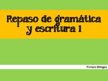 Repaso de gramática 1