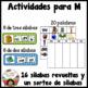 Spanish Alphabet Letter M - Rompecabezas (ma, me, mi, mo, mu Review Puzzles)