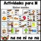 Spanish Alphabet Letter N - Rompecabezas (na, ne, ni, no, nu Review Puzzles)