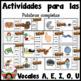 Repaso de las vocales Rompecabezas Spanish Vowel Sounds Review Puzzles