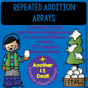 Repeated Addition Arrays! An Excellent Intro or Practice Resource!