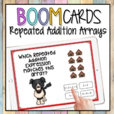 Repeated Addition Arrays BOOM CARDS | Digital Math Games