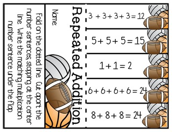 Repeated Addition: Beginnings of Multiplication