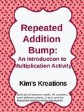 Repeated Addition Bump: An Introduction to Multiplication Activity