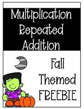 Repeated Addition FREEBIE