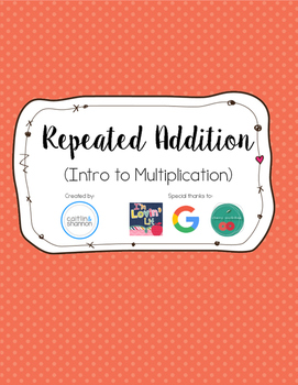 Repeated Addition- Intro to multiplication