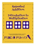 Repeated Addition Introduction to Multiplication Worksheet