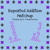Multiplication Fundamentals: Repeated Addition Match