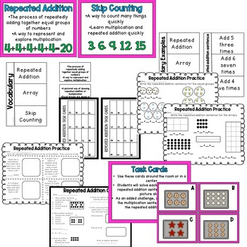 Repeated Addition Pack {{Updated}}