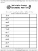 Repeated Addition Strategy Practice