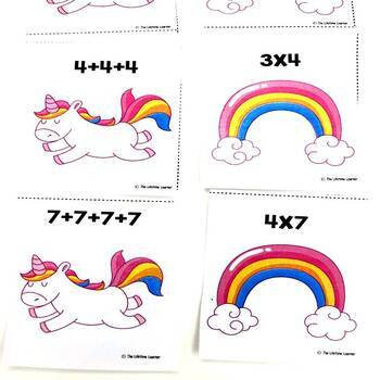 Repeated Addition Fall Game