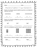 Repeated Addition and Arrays Assessment