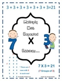 Repeated Addition and Multiplication-2nd and 3rd Grade