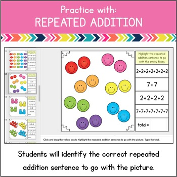 Repeated Addition in a Flash {Digital Practice for Google Classroom}