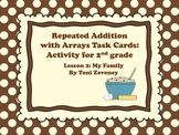 Repeated Addition with Arrays Task Cards