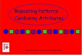 Repeated Patterning with Two Attributes