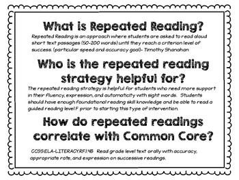 Repeated Readings QR codes {Level F}