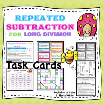 Repeated Subtraction for Long Division