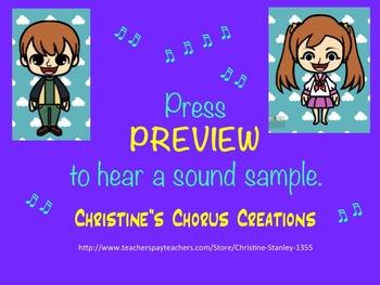 Repeated Tone, ♫ .mp3 Accompaniment:  Double Purpose Chorus/Vocal Warm-up