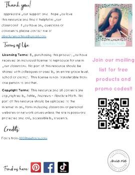 Repeating Decimals BINGO